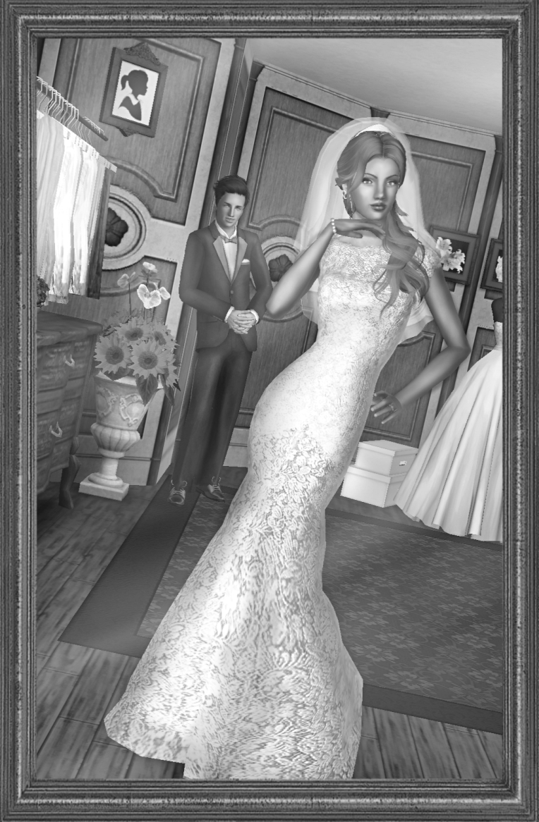 Wedding B&W